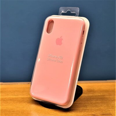 Накладка для iPhone XR Silicone Cover Pink