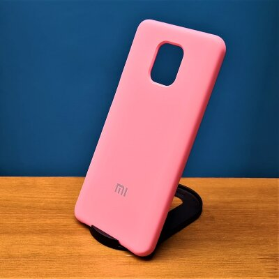 Накладка для Xiaomi Redmi Note 9 PRO/Note 9s Silicone Cover Light Pink