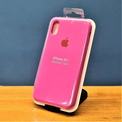 Накладка для iPhone XR Silicone Cover Roze