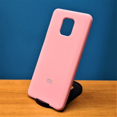 Накладка для Xiaomi Redmi Note 9 PRO/Note 9s Silicone Cover Pink Sand
