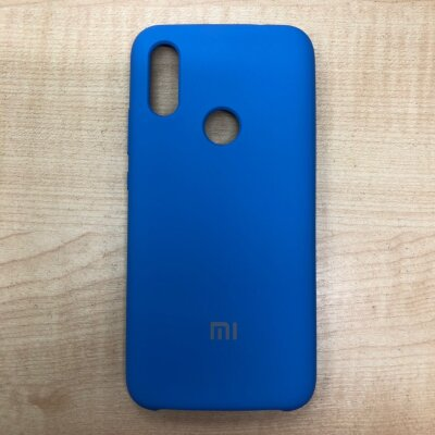 Накладка для Xiaomi Redmi 7 Mi Silicone Cover Royal Blue