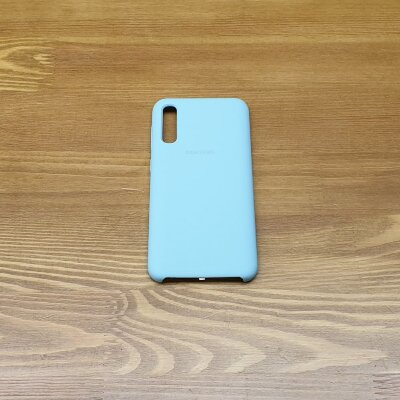 Накладка для Samsung A50 Silicone Cover Mint