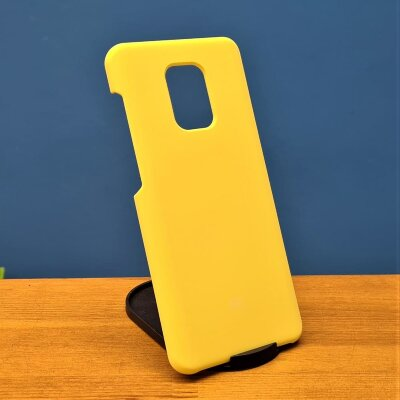 Накладка для Redmi Note 9 Pro/Note 9s Silicone Case Yellow