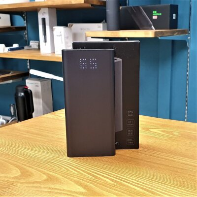 Внешний аккумулятор Power Bank Xiaomi Mi ZMI Aura 20000 mAh Black (QB822)