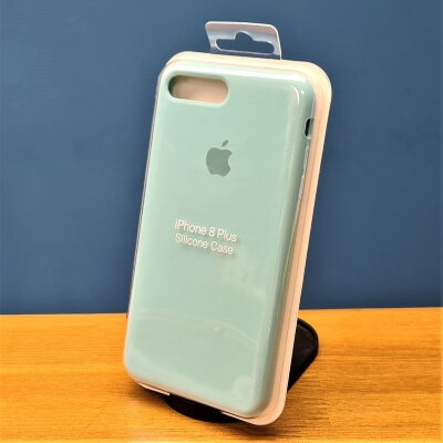 Накладка для iPhone 7/8 Plus Silicone Cover Mint
