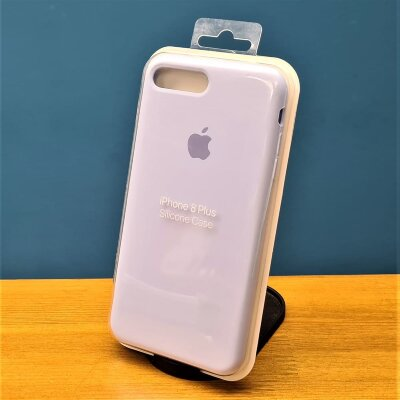 Накладка для iPhone 7/8 Plus Silicone Cover Lilac