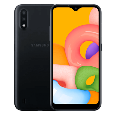 Смартфон Samsung Galaxy A01 16Gb Black (SM-A015F)
