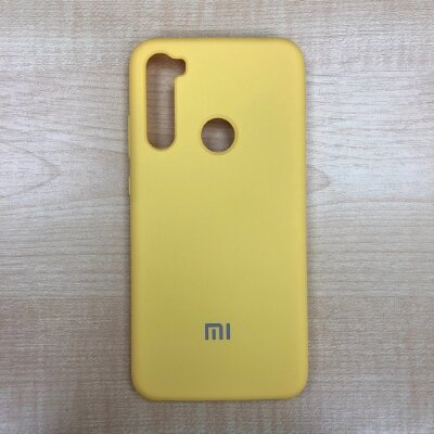 Накладка для Xiaomi Redmi Note 8 Silicone Cover Yellow