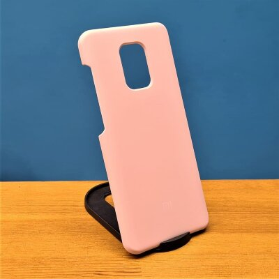 Накладка для Redmi Note 9 Pro/Note 9s Silicone Cover Beige