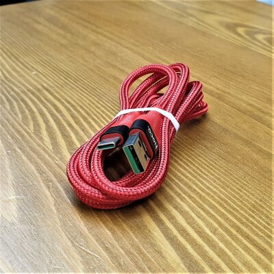 Кабель Hoco SO FAST USB - Type-C 1.2m Red (U53)