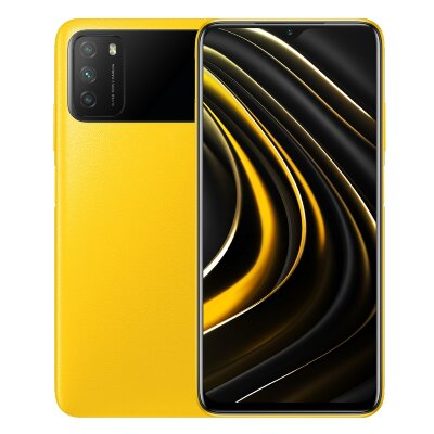 Смартфон Xiaomi Poco M3 4/64Gb Yellow