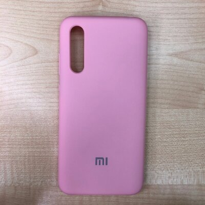 Накладка для Xiaomi Mi 9 Lite Silicone Cover Light Pink