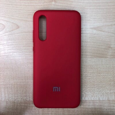 Накладка для Xiaomi Mi 9 Lite Silicone Cover Red
