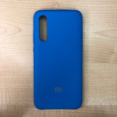 Накладка для Xiaomi Mi 9 Lite Silicone Cover Royal Blue