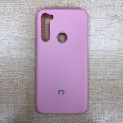 Накладка для Xiaomi Redmi Note 8 Silicone Cover Light Pink