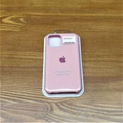Накладка для iPhone 11 Silicone Cover Peach