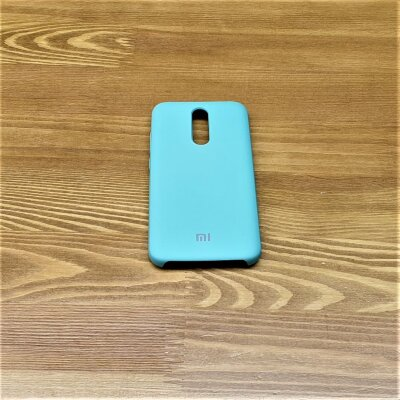 Накладка для Xiaomi Redmi 8 Silicone Cover Cosmos Mint