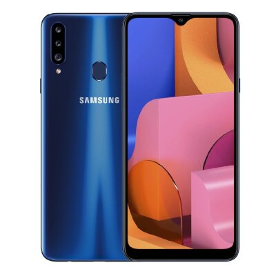 Смартфон Samsung Galaxy A20S 32Gb Синий (A207F/DS)
