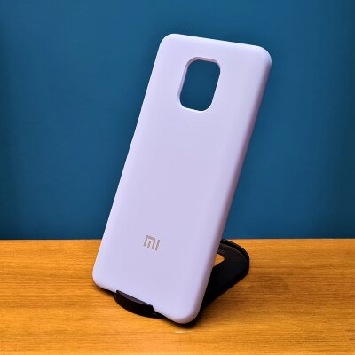 Накладка для Xiaomi Redmi Note 9 PRO/Note 9s Silicone Cover Light Blue