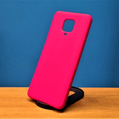 Накладка для Xiaomi Redmi Note 9 PRO/Note 9s Silicone Case Red