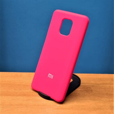 Накладка для Xiaomi Redmi Note 9 PRO/Note 9s Silicone Cover Red