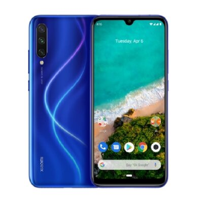 Смартфон Xiaomi Mi A3 4/64GB Android One Blue