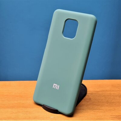 Накладка для Xiaomi Redmi Note 9 PRO/Note 9s Silicone Cover Green