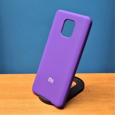 Накладка для Xiaomi Redmi Note 9 PRO/Note 9s Silicone Cover Ultraviolet